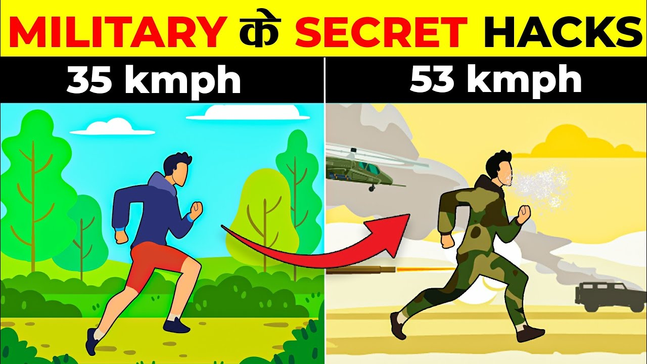11 Secret Military Hacks That'll Make Your Life Easier | What the fact | It's Fact | 2021 | In hindi