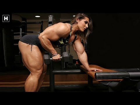 Massive Brazilian Female Bodybuilder #MassMonster | Leyvina Barros