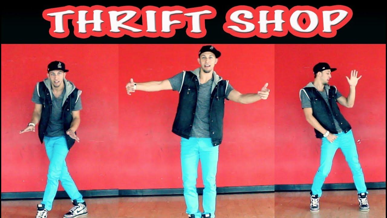 thrift shop macklemore beginner dance tutorial mattsteffanina choroegraphy dancevidslive youtube