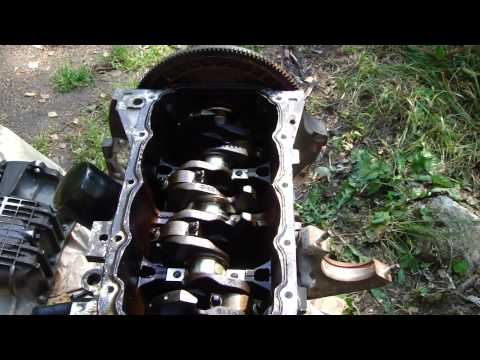 How to replace Ford Zetec crankshaft bearings