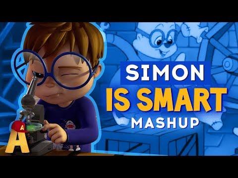 Simon Is Smart Mashup | Alvin and The Chipmunks | Planet Chipmunk