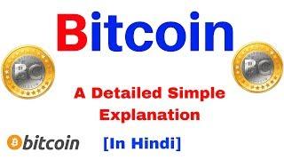 Bitcoin  A Detailed Simple Explanation in Hindi  |  जानिए  Bitcoin क्या है ?