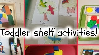 Montessori-inspired Toddler Learning Trays! (30/3/2015)