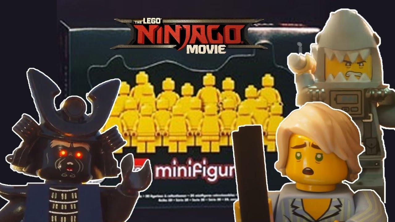 LEGO Ninjago Movie Collectible Minifigures! PJ Lloyd, Koko
