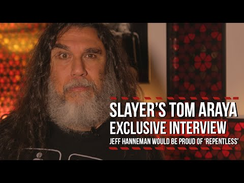 Slayer's Tom Araya: Jeff Hanneman Would be Proud of 'Repentless'