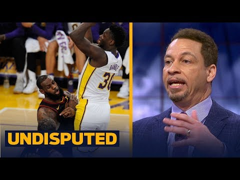Chris Broussard reacts to Julius Randle's career-high night in win over LeBron's Cavs | UNDISPUTED
