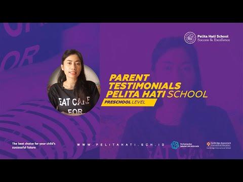 Parent Testimonials - Pelita Hati School