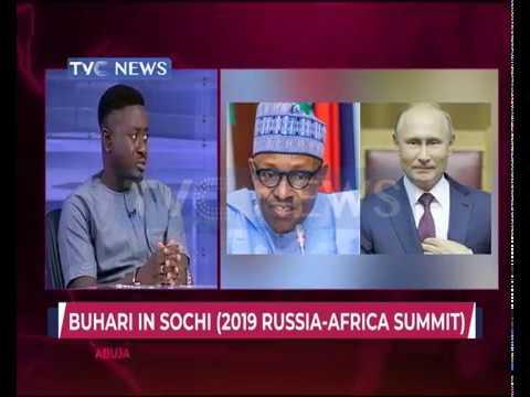 Buhari arrives Sochi ahead of Russia–Africa Economic Summit