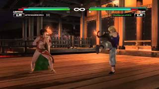 Dead or Alive 5 Last Round: Xbox One Online Matches 5/9/15