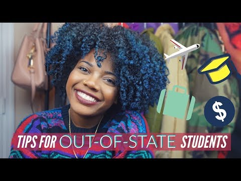 TIPS FOR OUT-OF-STATE STUDENTS | Aaliyah Sadé