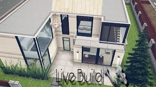 Modern House LIVE BUILD [Unfurnished] Sims Freeplay Adalia Sims YouTube