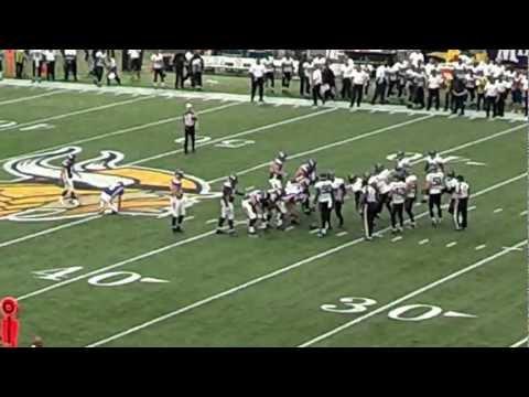 Vikings VS Jaguars 2012 - Blair Walsh 55 yd FG