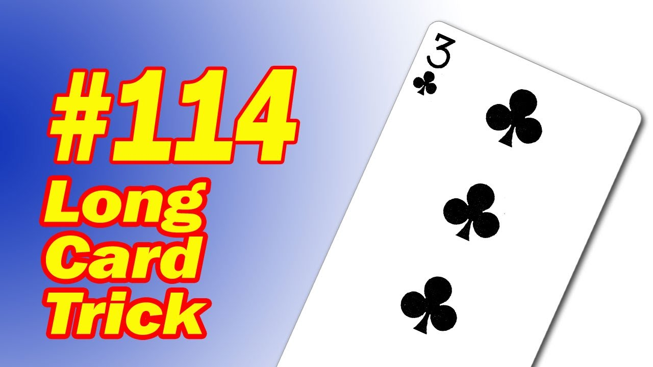 How To Reveal A Card Long Card Trick Easy To Learn Card Magic – Birthday Card Trick