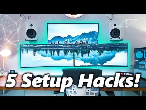 5 Cheap Tips To Improve Your Gaming / Desk Setup! v3