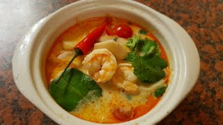 Том Ям (Тайский остро-кислый суп)