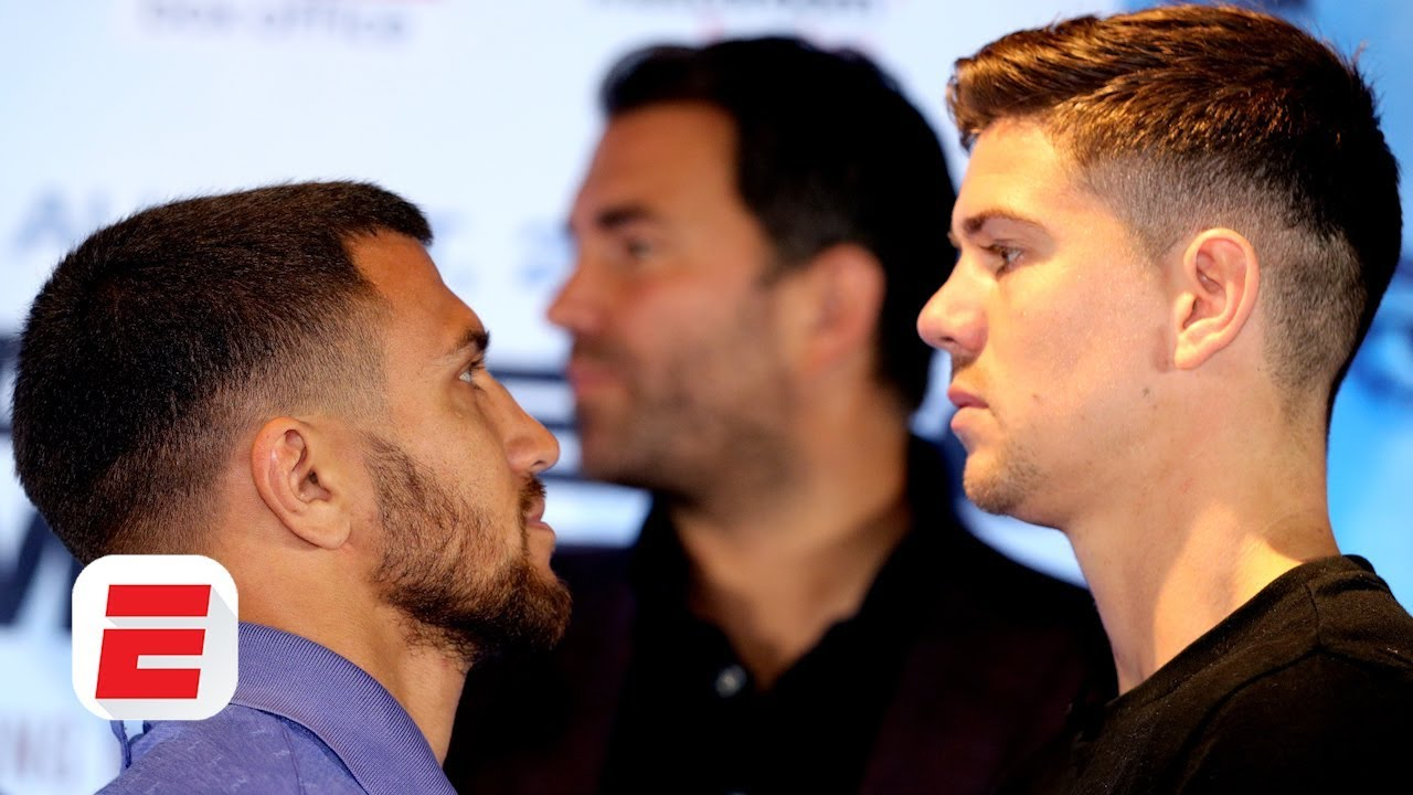 Vasiliy Lomachenko refuses to talk while preparing for Luke Campbell bout | Top Rank Boxing