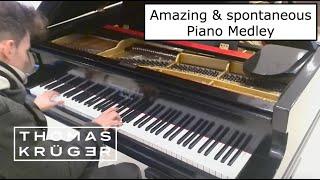 Thomas Krüger - Mr. Pianoman – Amazing & spontaneous Piano Medley @ IGA Berlin 2017 - Opening Day