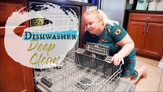 CLEAN WITH ME 2019 🧼| HOW TO DEEP CLEAN YOUR DISHWASHER/Heather McCarthy