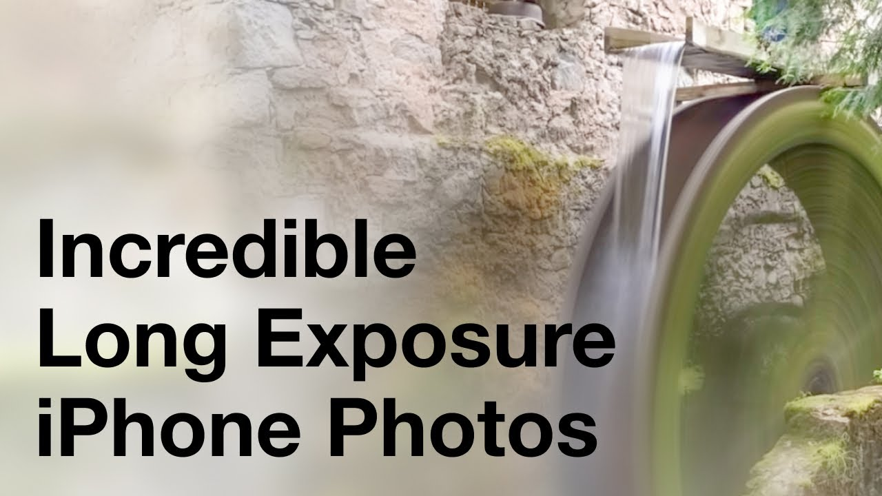 Secrets For Taking Incredible Long Exposure iPhone Photos