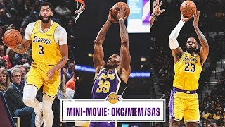 Mini-Movie: Lakers Roll Through Road Trip