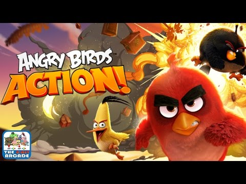 Angry Birds Action! - Bomb Wants In On The Action (iOS/iPad Gameplay)