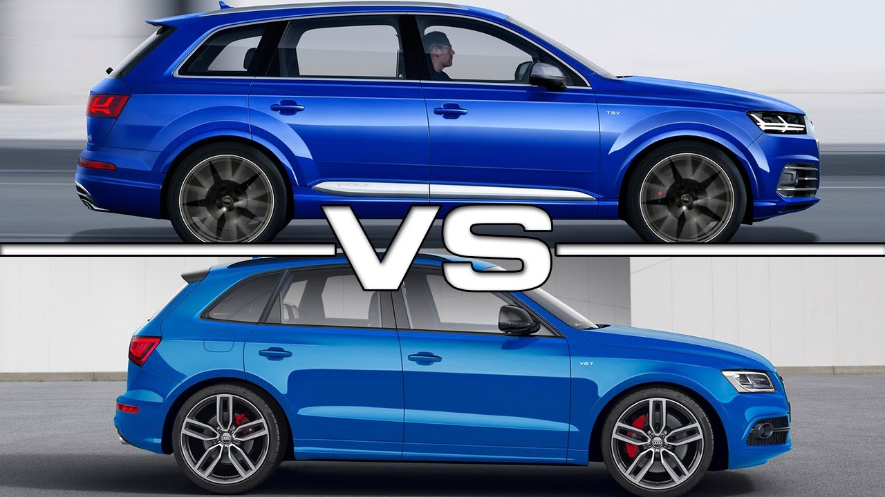 audi sq7 tdi vs audi sq5 tdi road test youtube. Black Bedroom Furniture Sets. Home Design Ideas