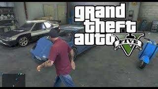 GTA 5-Michael's Garage's
