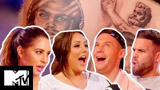 Love Island's Jess Shears Fumes At Her Bad Boob Job Tatt FromDom Lever | Just Tattoo of Us S3 Ep 3