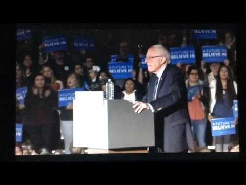 Bernie Sanders Lawrence Kansas Native Americans for Bernie