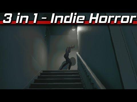3-IN-1 Video - #007 (Indie Horror Games)