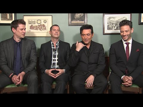 Il Divo say Hola to down time