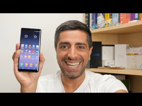 Samsung Galaxy Note 8 hands-on [Greek]