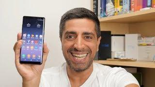 Samsung Galaxy Note 8 hands-on [Greek]