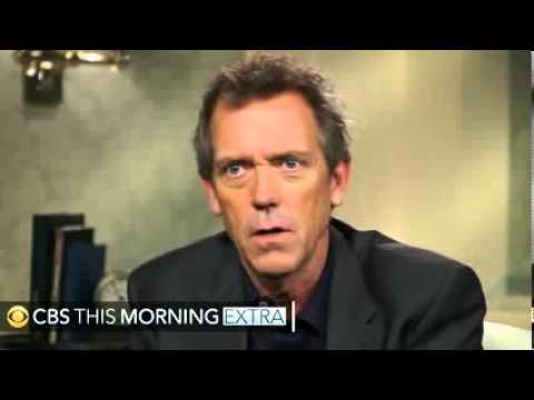 Hugh Laurie We modeled House character on Sherlock Holmes