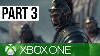 Ryse Son of Rome Gameplay Walkthrough Part 3 - Chapter 3: Trial By Fire (XBOX ONE Gameplay 1080p HD)