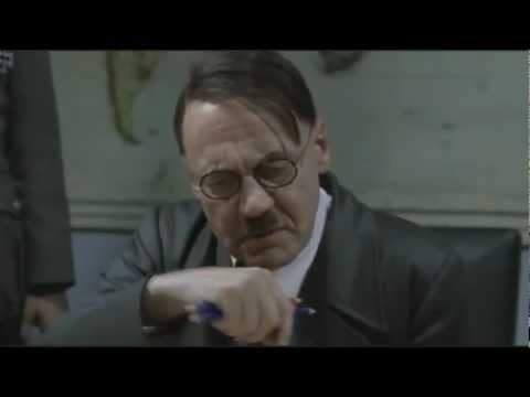 Hitler is angry at the null string