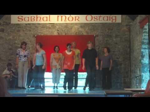 Sabhal Mor Ostaig Stepdance 2009