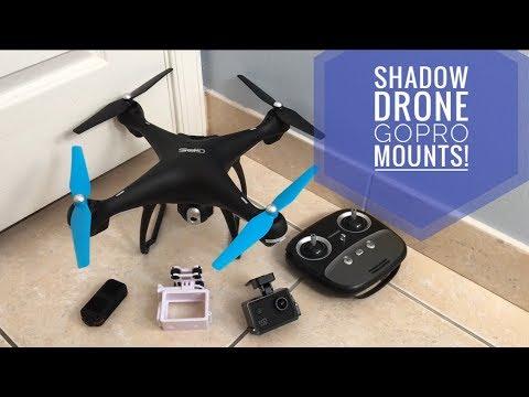 Shadow Drone GoPro Mounts!