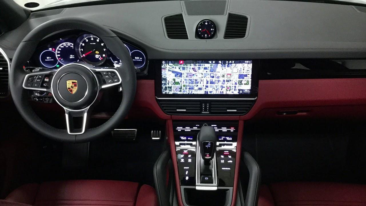 2019 Porsche Cayenne S In Jet Black Metallic 64164 Youtube