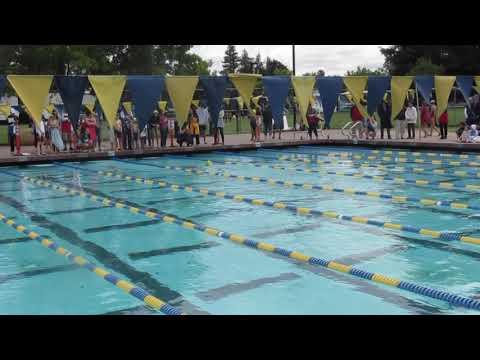 2018-6-9, Kenny Chen Swim 200 yards Relay (2018游泳賽 6/09 , 紀翰游四式混合接力賽)