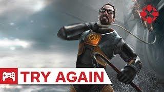 Try Again: Half-Life