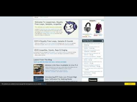 5 Coole Quellen für kostenlose Samples