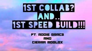 3x3 House Challenge! Bloxburg Roblox. Ft. Addie Grac3 and Cierra Roblox!