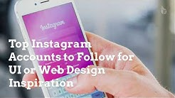 Top Instagram Accounts to Follow for UI and Web Design Inspiration