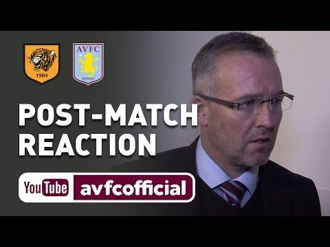 Hull 2-0 Villa AVTV reaction