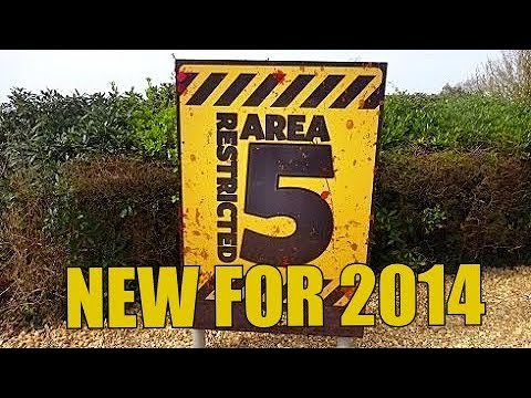 NEW  2014 - blackgang chine  - RESTRICTED AREA 5 ( FULL WALKTHROUGH ) - isle of wight
