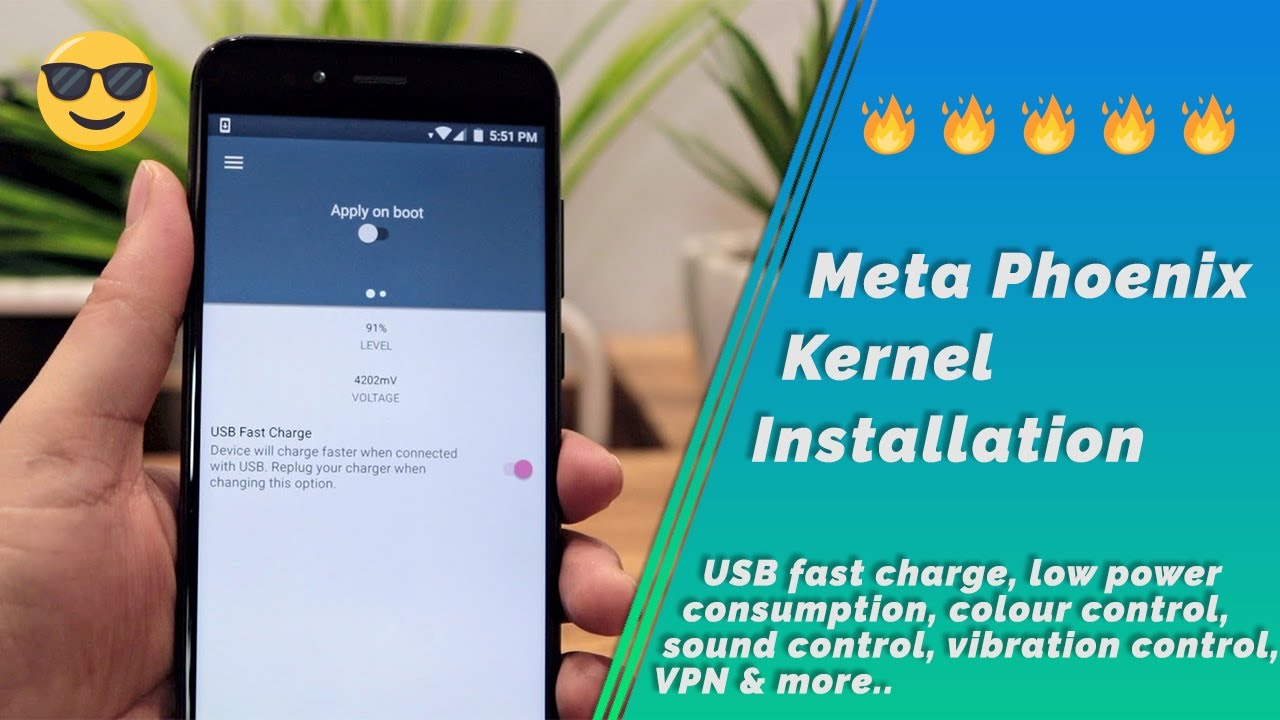 Mi A1 | Fast Charging, VPN, DT2W, KCAL, Sound Control with Meta Phoenix  Kernel Installation