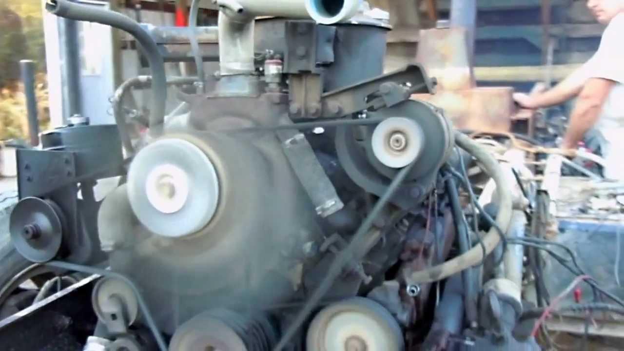 8 2 L Gm V8 Detroit Diesel Youtube