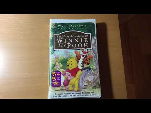 the many adventures of winnie the pooh blu ray unboxing