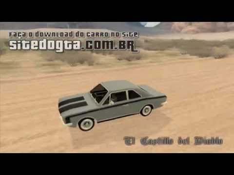 Ford Corcel GT 1975 Para GTA San Andreas
